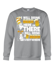 I will drink beer Crewneck Sweatshirt tile