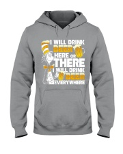 I will drink beer Hooded Sweatshirt tile