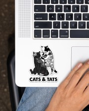 Cat And Tats Sticker - Single (Vertical) aos-sticker-single-vertical-lifestyle-front-11