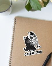Cat And Tats Sticker - Single (Vertical) aos-sticker-single-vertical-lifestyle-front-16