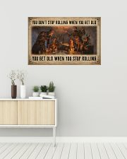 Game You Don't Stop Rolling 36x24 Poster poster-landscape-36x24-lifestyle-01
