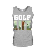 Golf life Unisex Tank thumbnail