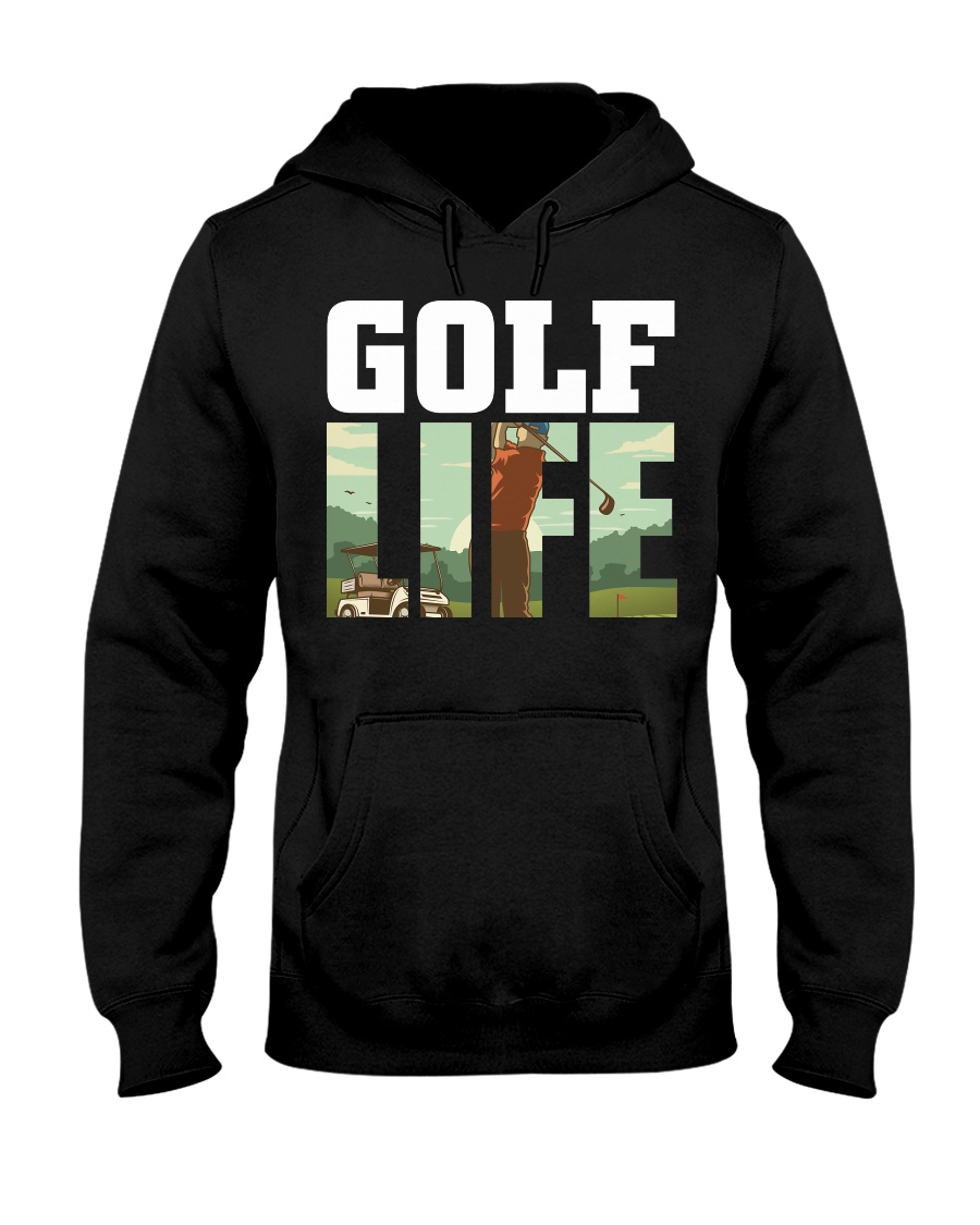Golf life Hooded Sweatshirt