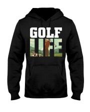 Golf life Hooded Sweatshirt front