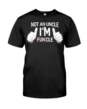 I'm funcle Classic T-Shirt front