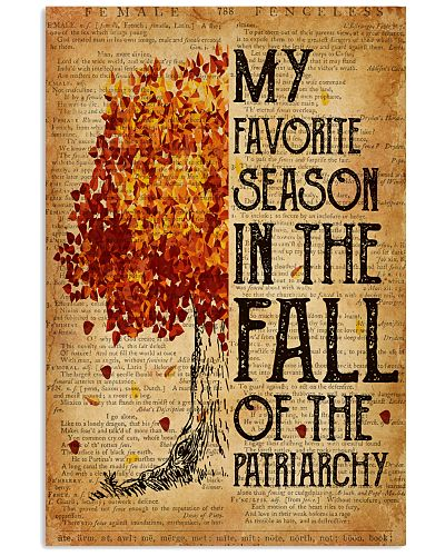 Patriarchy My Favorite Season