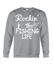 fishing life Crewneck Sweatshirt thumbnail