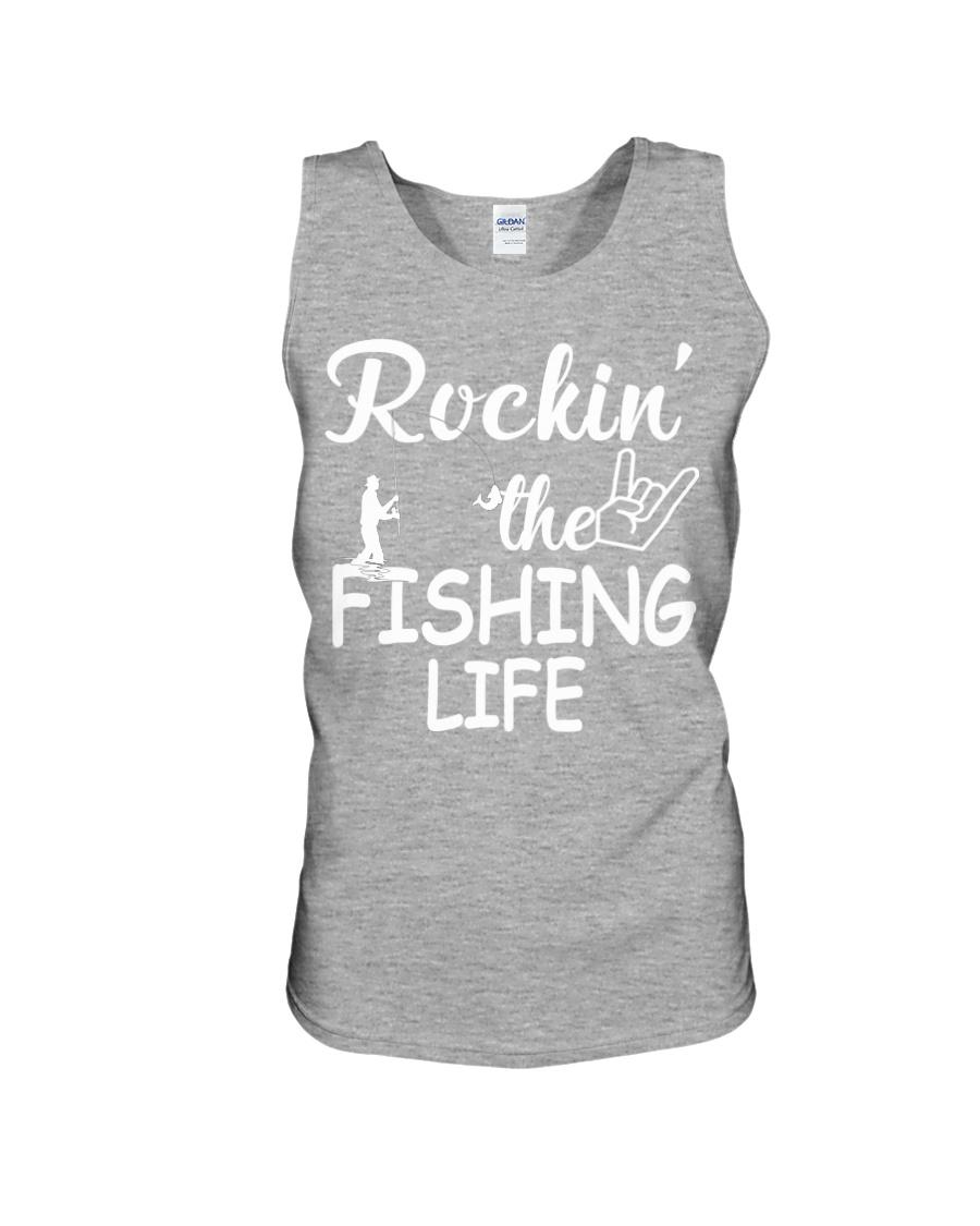 fishing life Unisex Tank