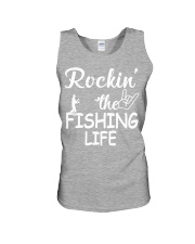 fishing life Unisex Tank tile