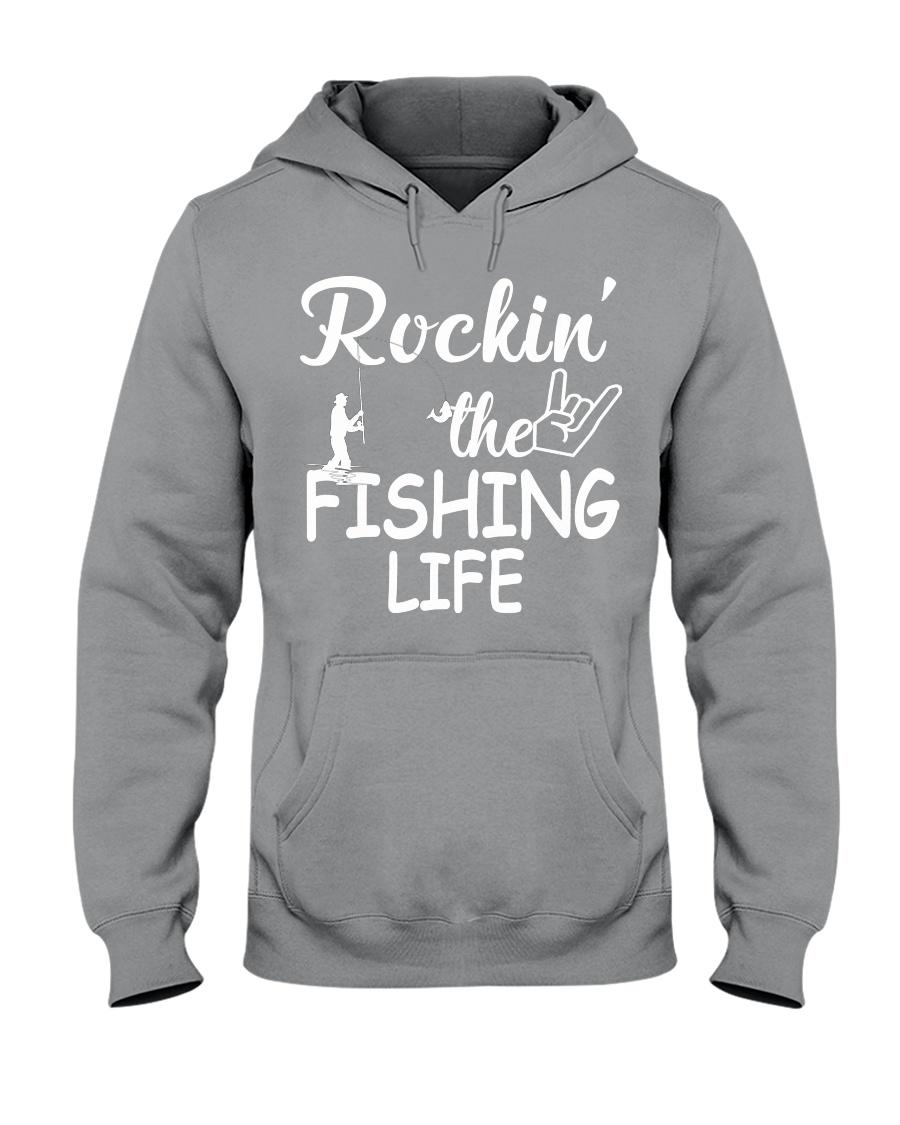 fishing life Hooded Sweatshirt