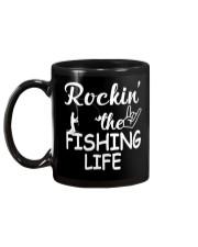 fishing life Mug back