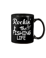 fishing life Mug tile