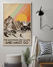 Skiing The Mountains Are Calling 16x24 Poster lifestyle-poster-1