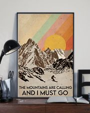 Skiing The Mountains Are Calling 16x24 Poster lifestyle-poster-2