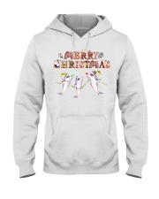 Merry christmas Hooded Sweatshirt front