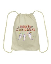 Merry christmas Drawstring Bag thumbnail