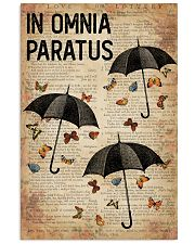 In Omnia Paratus 16x24 Poster front