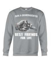 Papa n Granddaughter Crewneck Sweatshirt thumbnail