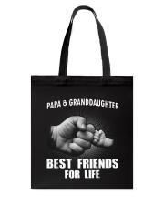 Papa n Granddaughter Tote Bag thumbnail