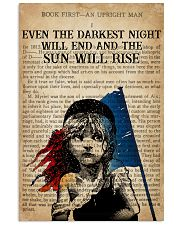 Book Even The Darkest Night 16x24 Poster front