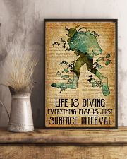 Scuba Life Is Diving 16x24 Poster lifestyle-poster-3