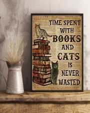 Books And Cats 16x24 Poster lifestyle-poster-3