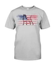 pitbull glasses Classic T-Shirt thumbnail
