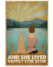 Dog Happily Ever After 16x24 Poster front