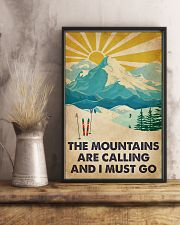 Skiing The Mountains Are Calling 16x24 Poster lifestyle-poster-3