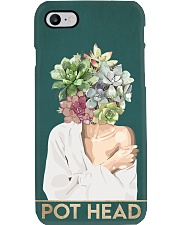 Garden Pot Head Phone Case i-phone-8-case