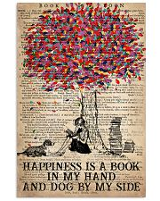 Book Happiness Is A Book In My hand 16x24 Poster front