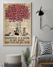 Book Happiness Is A Book In My hand 16x24 Poster lifestyle-poster-1