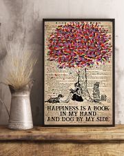 Book Happiness Is A Book In My hand 16x24 Poster lifestyle-poster-3