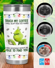 Touch My Coffee 20oz Tumbler aos-20oz-tumbler-lifestyle-front-46