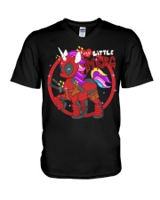 Unicornpool V-Neck T-Shirt thumbnail