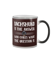 Dachshund Color Changing Mug thumbnail