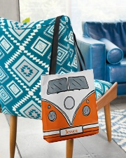 Camping Van Orange All-over Tote aos-all-over-tote-lifestyle-front-01