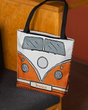 Camping Van Orange All-over Tote aos-all-over-tote-lifestyle-front-02