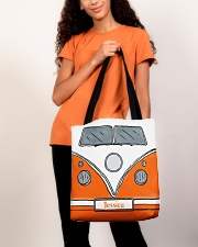 Camping Van Orange All-over Tote aos-all-over-tote-lifestyle-front-06