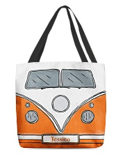 Camping Van Orange All-over Tote front