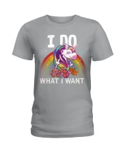 I do what i want Ladies T-Shirt thumbnail