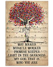 Jesus Light In The Darkness 16x24 Poster front