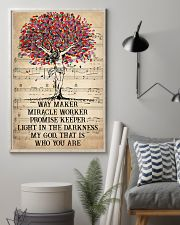 Jesus Light In The Darkness 16x24 Poster lifestyle-poster-1