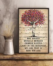 Jesus Light In The Darkness 16x24 Poster lifestyle-poster-3