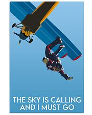 Skydiving The Sky Is Calling 16x24 Poster front
