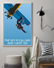 Skydiving The Sky Is Calling 16x24 Poster lifestyle-poster-1