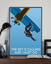Skydiving The Sky Is Calling 16x24 Poster lifestyle-poster-2