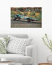 Racing If Everything Is under Control 24x16 Poster poster-landscape-24x16-lifestyle-01