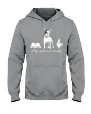 Frenchie Simple Hooded Sweatshirt thumbnail