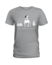 Frenchie Simple Ladies T-Shirt thumbnail